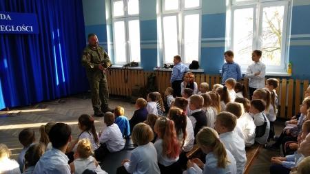 Wizyta żołnierza